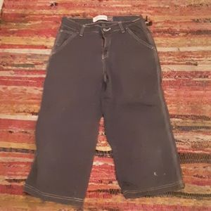 GAP VINTAGE CARPENTER CAPRI JEANS SIZE 2